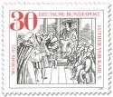 Stamp: Wormser Reichstag: Martin Luther vor Karl V.