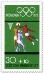 Stamp: Basketball (München 1972)