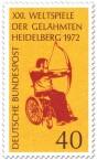 Stamp: Bogenschießen im Rollstuhl (Weltspiele der Gelähmten)