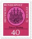 Stamp: Dom zu Wuerzburg - Synode 72