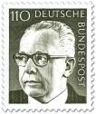 Stamp: Gustav Heinemann (110)