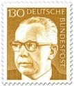 Stamp: Gustav Heinemann (130)