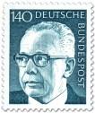 Stamp: Gustav Heinemann (140)