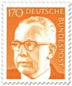 Stamp: Gustav Heinemann (170)