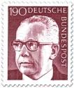 Stamp: Gustav Heinemann (190)