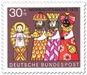 Stamp: Heilige drei Könige (Weihnachtsmarke 1972)