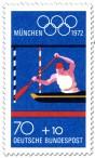 Stamp: Kanuslalom (Olympische Sommerspiele 1972 in München)