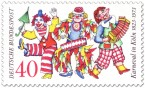 Stamp: Karneval In Köln - Jecken