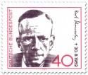 Stamp: Kurt Schumacher (SPD Politiker)