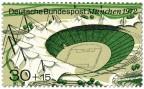 Stamp: Olympiastadion München 1972