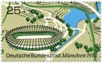 Stamp: Velodrom im Münchener Olympiapark