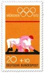 Stamp: Ringer ringen (Olympische Spiele 1972)