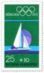 Stamp: Segelboot, Segeln  (Olympische Spiele 1972)