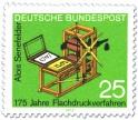 Stamp: Steindruckpresse von Alois Senefelder