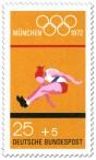 Stamp: Weitsprung (Olympische Sommerspiele 1972 in München)