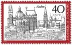 Stamp: Aachen Stadtansicht