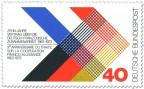 Stamp: Deutsch Franzoesische Zuammenarbeit