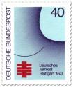 Stamp: Deutsches Turnfest Stuttgart 1973