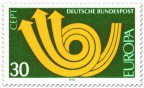Stamp: Europamarke 1973 (Posthorn)