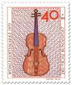 Stamp: Geige aus dem 18. Jahrhundert