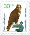 Stamp: Mäusebussard
