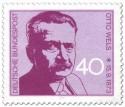 Stamp: Otto Wels (Politiker)