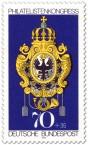 Stamp: Posthausschild Preußen