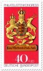 Stamp: Posthausschild Württemberg
