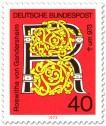 Stamp: Roswitha von Gandersheim (Dichterin)