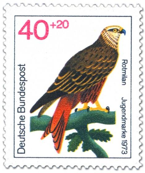 Stamp: Rotmilan