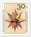 Stamp: Weihnachtsstern Papier (Weihnachtsmarke 1973)