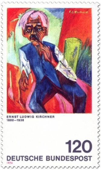 Stamp: Alter Bauer von Ernst Ludwig Kirchner