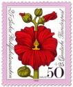 Stamp: Blume: Rote Malve