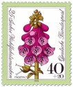 Stamp: Blume: Roter Fingerhut