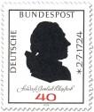 Stamp: Friedrich Gottlieb Klopstock (Dichter)
