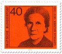 Stamp: Gertrud Bäumer (Frauenrechtlerin)
