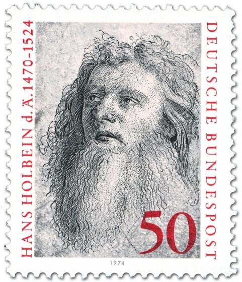 Stamp: Hans Holbein d. Ä. (Maler der Renaissance)
