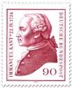 Stamp: Immanuel Kant (Philosoph), 1974