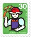 Stamp: Jugend und Folklore