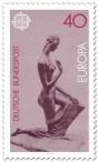 Stamp: Kniende von Wilhelm Lehmbruck