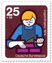 Stamp: Mauern, Ausbildung (Jugendmarke)