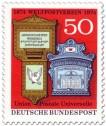 Stamp: 2 Postbriefkästen - 100 Jahre Weltpostverein