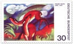 Stamp: Rehe von Franz Marc