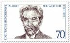 Stamp: Albert Schweitzer (Arzt)