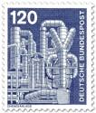 Stamp: Chemieanlage, Metallrohre