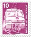 Stamp: E-Lok Nahverkehrstriebzug ET 420/421
