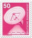 Stamp: Erdfunkstelle