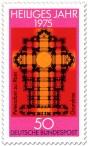 Stamp: Grundriss Petersdom Rom (Heiliges Jahr 1975)