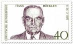 Stamp: Hans Böckler (Politiker)
