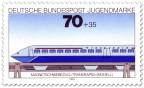 Stamp: Magnetschwebebahn Transrapid